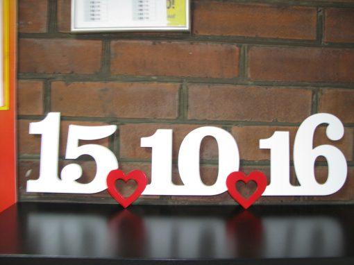 Надпись «Дата»